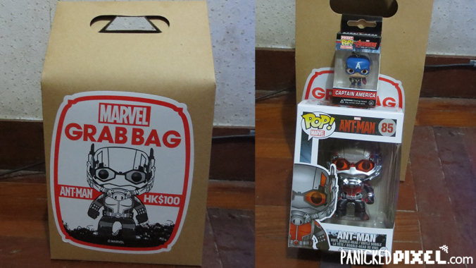 Ant-Man Funko Marvel Grab Bag