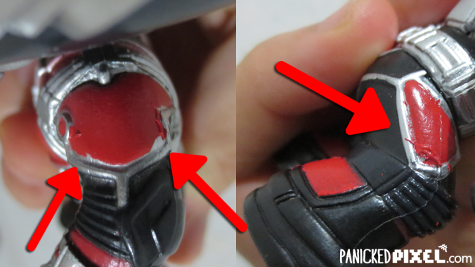 Ant-Man Funko Paint Shoulder Knees