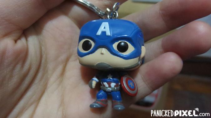 Captain America Funko Keychain